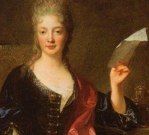 Élisabeth Jacquet de La Guerre (1665-1729) Painting by François de Troy