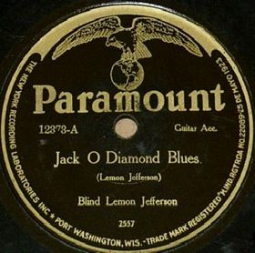 Blind Lemon Jefferson - Jack O'Diamond Blues (Paramount)