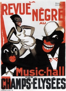 Poster for the Paris revue Le Revue nègre designed by Paul Colin