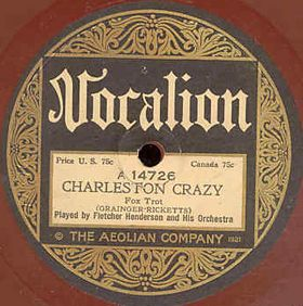 Fletcher Henderson - Charleston Crazy (Vocalion)