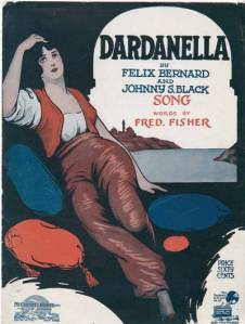 Sheet music for Felix Bernard, Johnny Black and Fred Fisher's song Dardanella