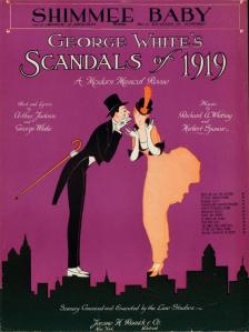 Poster for George White's Scandals of 1919