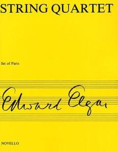 Sheet music for Elgar's String Quartet (Novello)