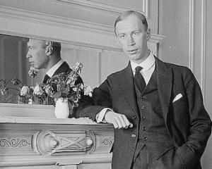Sergei Prokofiev (1891-1953) in New York in 1918