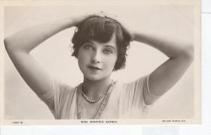 Winifred Barnes (1892-1935), star of Paul Rubens' musical The Happy Day