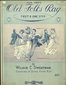 Sheet music for Wilbur Sweatman's Old Folks Rag
