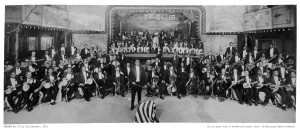 James Reese Europe's  Clef Club Orchestra photographed in 1912