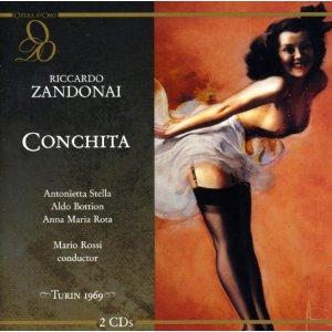 Riccardo Zandonai - Conchita (Opera D'oro)
