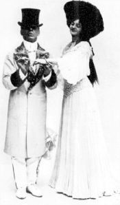 Fred. Wright Jr and Gertie Millar in a scene from the Tanner and Nicholls musical The Toreador