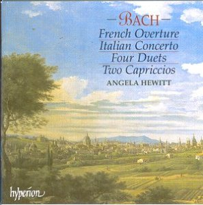 JS Bach - French Overture & Italian Concerto (Hyperion)