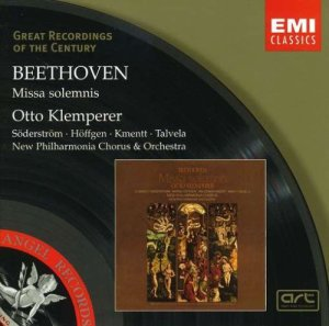 Beethoven - Missa Solemnis conducted by Otto Klemperer (EMI)