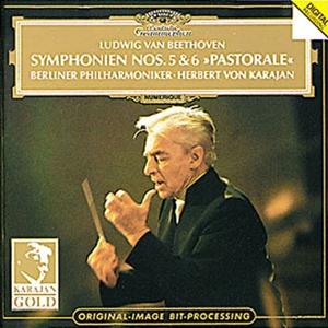 Beethoven Symphonies Nos. 5 & 6 - Herbert von Karajan (Deutsche Grammophon)