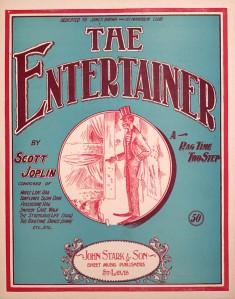 Scott Joplin - The Entertainer. Original sheet music