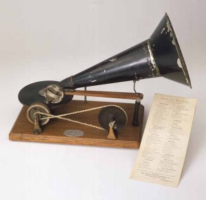 Emile Berliner's (1851-1929) gramophone