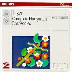 Franz Liszt - Complete Hungarian Rhapsodies (Philips)