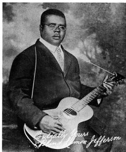 Blind Lemon Jefferson 1893-1929