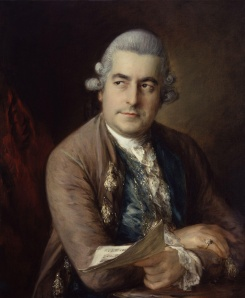 Johann Christian Bach (1735-1782) painted by Thomas Gainsborough