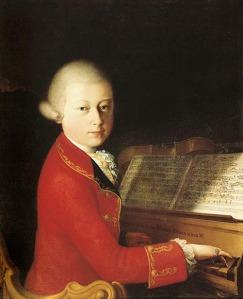 Wolfgang Amadeus Mozart (1756-1791) aged 14