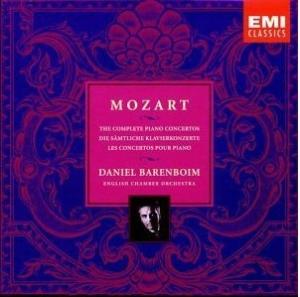 Mozart: Complete Piano Concertos - Daniel Barenboim (EMI)