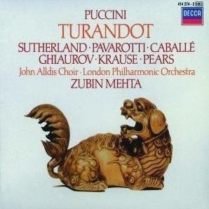 Giacomo Puccini - Turandot (Decca)