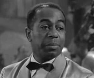 Dooley Wilson 1886-1953 in a still from Casablanca