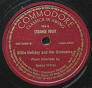 Billie Holiday and her Orchestra - Strange Fruit (Commodore)