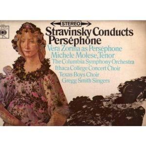 Stravinsky - Perséphone (CBS)