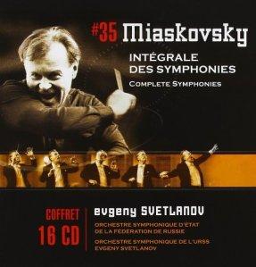 Nikolai Myaskovsky - Complete Symphonies (Warner Classics)